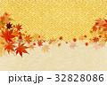 紅葉 葉 秋のイラスト 32828086