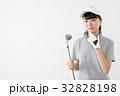 ゴルファー 女性 若いの写真 32828198
