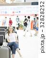 空港 人物 女性の写真 32828252