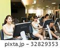フィットネス フィットネスジム 女性の写真 32829353
