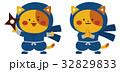 ネコ忍者 32829833