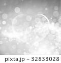 銀 シルバー ハートのイラスト 32833028