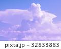 夏 背景 くもの写真 32833883