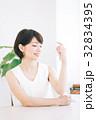 女性 スキンケアイメージ  32834395