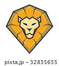 ライオン ベクター 頭のイラスト 32835655