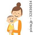 人物 ママ ベクターのイラスト 32836634