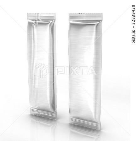 Blank food package mockupのイラスト素材 [32839428] - PIXTA