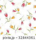 植物 花 花柄のイラスト 32844361