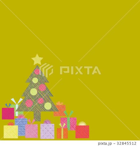 クリスマスツリー プレゼント 32845512