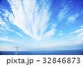 オホーツク海 夏 青空の写真 32846873