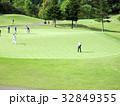 ゴルフ 練習グリーン 32849355