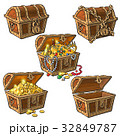 宝 宝物 財宝のイラスト 32849787