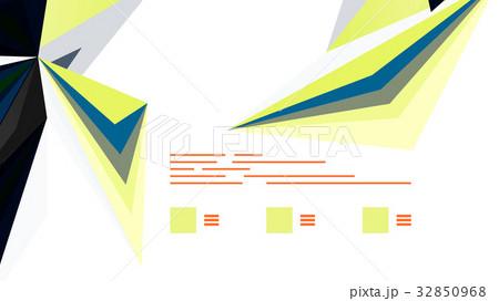 Modern triangle presentation templateのイラスト素材 [32850968] - PIXTA