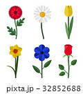 Flowers flat icons 32852688