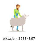 農園 農場 ベクトルのイラスト 32854367