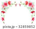 花 植物 コスモスのイラスト 32859852