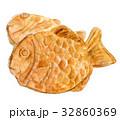 たいやき 食べ物 水彩のイラスト 32860369