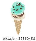 アイスクリーム ダブル ベクターのイラスト 32860458