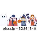 ハロウィン 仮装 人物のイラスト 32864340