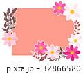 秋の花のフレーム07 32866580
