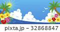 夏 海 カモメのイラスト 32868847