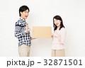 引越し 夫婦 宅配便の写真 32871501