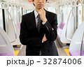ビジネスマン(電車) 撮影協力「京王電鉄株式会社」 32874006