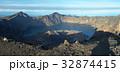 Crater LakeInside of Rinjani Volcano 32874415