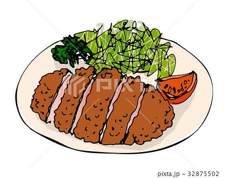 好きな食べ物 とんかつ 32875502