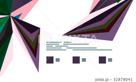 Modern triangle presentation templateのイラスト素材 [32878041] - PIXTA