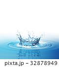 ウォーター 水 水分のイラスト 32878949