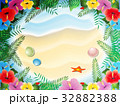 夏の風景(ハイビスカス) 32882388