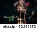 浜名湖 かんざんじ温泉灯篭流しと花火大会 内浦 向こうに浜名湖パルパル 比較明合成 32882952