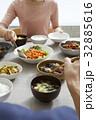 食卓 食事 和食の写真 32885616