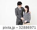 妊婦 妊娠 夫婦の写真 32886971