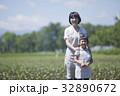 親子 農家 母子の写真 32890672