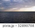 広々とした海の風景 32890708