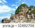夏 笹川流れ 蓬莱山の写真 32892708