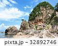 夏 笹川流れ 蓬莱山の写真 32892746