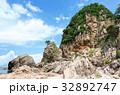 夏 笹川流れ 蓬莱山の写真 32892747