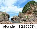 夏 笹川流れ 蓬莱山の写真 32892754