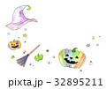 ハロウィンパーティー フレーム 32895211