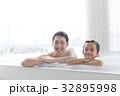 親子入浴イメージ 32895998