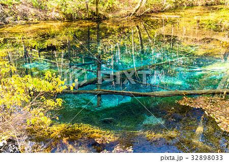 《北海道》神の子池《秋》 32898033