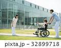 介護 車椅子 病院の写真 32899718