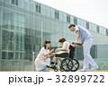 介護 車椅子 病院の写真 32899722