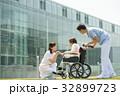 介護 車椅子 病院の写真 32899723