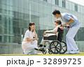 介護 車椅子 病院の写真 32899725