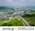 多摩川ドローン空撮(福生市からあきる野市方面) 32901224