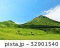 大分県 青空の豊後富士 32901540